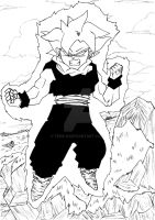 And if Gohan was the first SSJ ? by Teen-H
