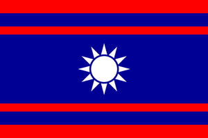 Flag of the Chinese Union by El-Thorvaldo