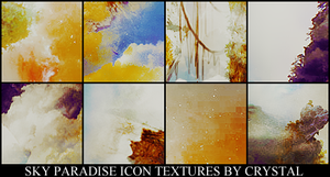 Sky Paradise Icon Textures by crissie2389