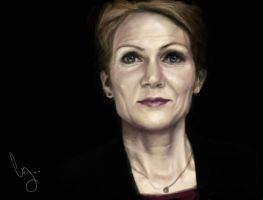 Helle Thorning-Schmidt by Pungyeon