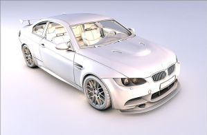 Bmw M3 mesh (finished) by Artsoni3D