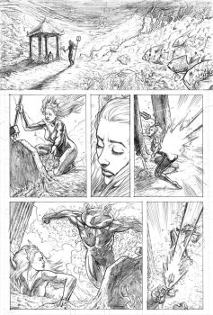 Mera Page 1 pencils by craigcermak