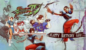 Chun Li wallpaper - HB,Lily by RollingStar89