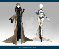 (CLOSED) Adoptable Outfit Auction 77-78 by Risoluce