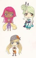 Chibi Adoptables :CLOSED: by rosiluna