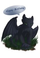 Toothless by Effily