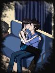 Our first kiss.. by TanNxX