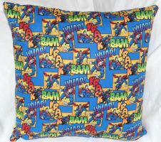 Superman Pillow 2 by quiltoni