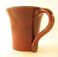 Ox Blood Cup by M-A-Ceramics