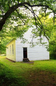 Cataloochee School House by TommyPropest-Candler