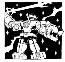 Voltron by JoelRCarroll