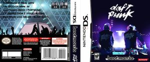 Daft Punk Nintendo DS by citrus-blast