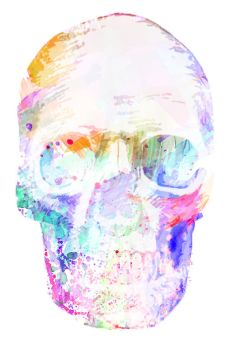 Watercolour Skull  by MutaleNK