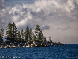 East Shore Lake Tahoe Nevada by MartinGollery