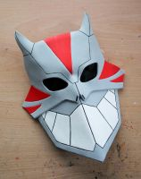 Young Justice Cheshire leather mask by Masktastic