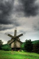 wind mill by lucifersdream