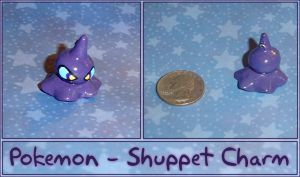 Pokemon - Shuppet Charm by YellerCrakka