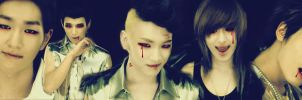 SHINee as Vampire by limit73er