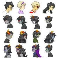 Homestuck by m3ru