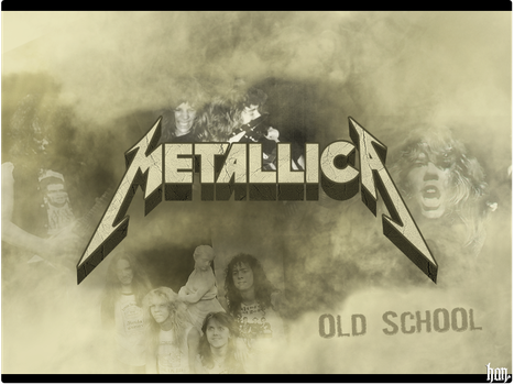 Metallica Old School by maydin08