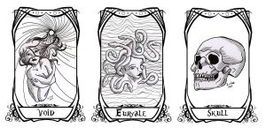 DoMT: Void, Euryale and Skull by Karla-Chan