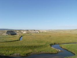 Yellowstone Meandering River by rioka