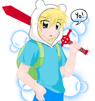 Finn the human by Neko-Hibi