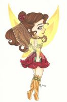 Chibi Disney Fairy Collection: Belle by chelleface90