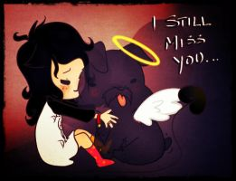I still miss you, Mr.Whiskers... by CommanderMitsuki