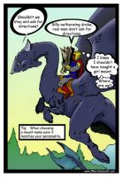 "WOW comic 4 ""Mount Choice"" by JMarcDodsonJr"