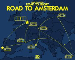 ROAD TO AMSTERDAM by shady06