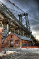 Williamsburg Bridge by Inno68