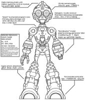 MegaMan Body Schematic by MSipher