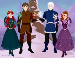 The Big Four - And So They Meet by FireLadyAzula