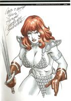 Red Sonja Sketch by Buchemi