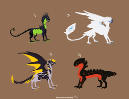 Dragon Adopts 5 [Point Option Added!] by Adopt-Monstar