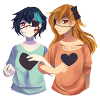 Two-Faced Lovers by k-k-kuma