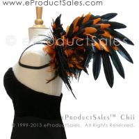 eProductSales Chii Black/Orange Mx Halloween WINGS by eProductSales