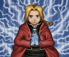 Edward Elric by CartoonSilverFox