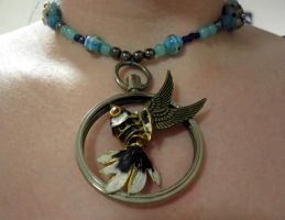 Leave me to the sea necklace by Gothic-Enchantress