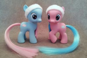 MLP: FiM - Spa Fillies - custom ponies by hannaliten