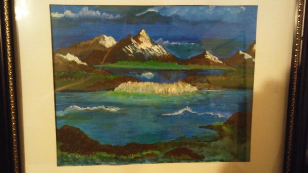 Painting Mountains by rayesmith