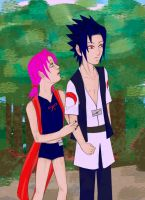 SasuSaku - Don't Go by DarkeAOU