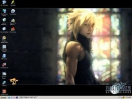 Cloud Strife: Advent Children by Link-chan