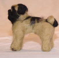 Needle Felted Pug by The-GoblinQueen