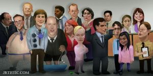 The OFFICE updated by psmonkey