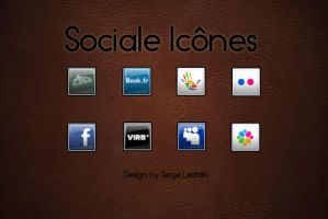 sociale icone by Yonbie