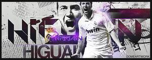 Gonzalo Higuain by xDome