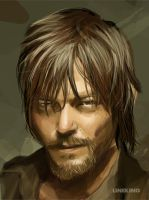 Daryl (walking dead) by imlineking