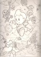 Mother 3 sketch by mattdog1000000